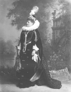 Charlotte (Francis Frederica) Countess Spencer, née Seymour (1835-1903) as Countess of Lennox