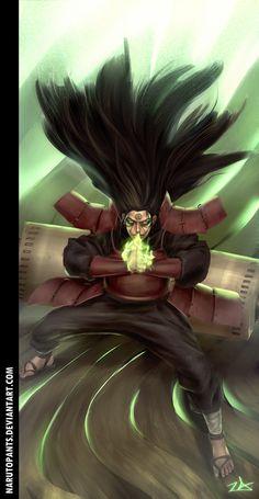 Hashirama Modo Senin - Anime Naruto
