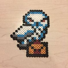 Hedwig - Harry Potter perler beads by awesomeangela13