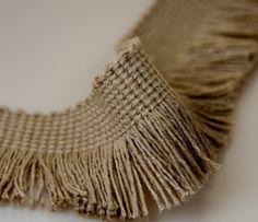 cut fringe in cotton
