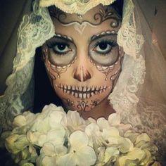 Sugar skull bride - Skullspiration.com - skull designs, art, fashion and more