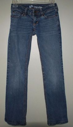 Bullhead laguna bootcut jeans junior womens size 00 regular #Bullhead #BootCut