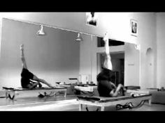 I never tire of watching this amazing Pilates Reformer video #pilates #video