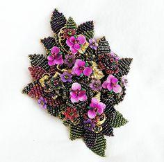 Stanley Hagler Ian St Gielar Huge Purple by AgedandOpulentJewels, $425.00
