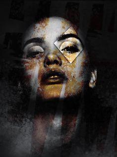 Photomanipulation Portrait Creative Art #sasu #photoshop #photomanipulation #woman Lisa, Photo Manipulation, Gouache, Creative Art, Photoshop, Watercolor, Woman, Portrait, Illustration