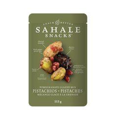 Cashew-Macadamia Snack Mix by Sahale Snacks Dried Apples, Dried Cherries, Healthy Eats, Healthy Foods, Glazed Pecans, Dried Lemon, Gluten Free Oatmeal, Oatmeal Cups, Honey Almonds