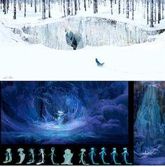 Lisa Keene - Frozen http://theconceptartblog.com/2013/12/01/concept-arts-de-lisa-keene-para-o-filme-frozen/