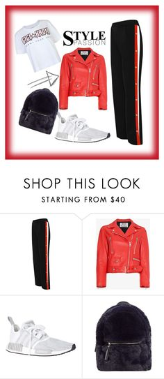 spring :-) by viktoria-pacvonova on Polyvore featuring Tommy Hilfiger, Acne Studios, WearAll, adidas Originals and MANGO