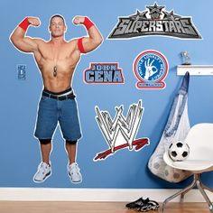To match Jackson's WWE room