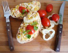 Nátierka z cukety Baked Potato, Ale, Sandwiches, Potatoes, Eggs, Meat, Chicken, Baking, Breakfast