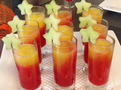 Watermelon-Pineapple Shots