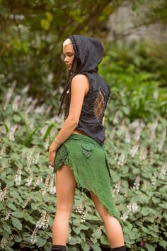The Gypsy Sister Skirt is perfect for this festival season! Featuring comfortably soft layers of unique fabrics, this skirt wraps around for a