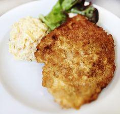 Denné menu Vranov | Obrátený bravčový rezeň, zemiakový šalát s majonézou - reštaurácia Hotel Patriot*** #hotel #restauracia #dennemenu