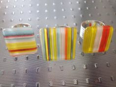 Fused glass jewelry by Miss Olivia's Line - additional items are posted at http://www.facebook.com/MissOliviasLine