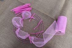 How to Make Deco Mesh Wreaths -- good to know how to work with this stuff -- I'm seeing it in craft stores