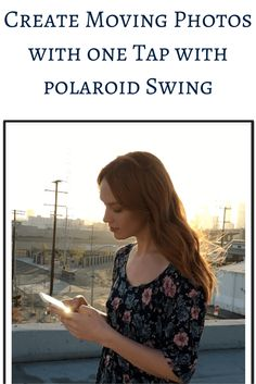 Polaroid Swing iOS App: Check out the genre-defining camera app that lets you capture photos and bring it to life with a touch or swing.  via @theapptimes