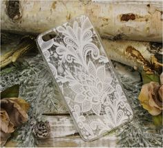 Lace iPhone 6plus lace pattern rubber phone case, cell phone cover | LACY