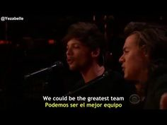 One Direction - History (The Late Late Show with James Corden) [Lyrics +...