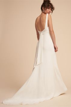 BHLDN Harper Gown Ivory  in  Bride | BHLDN