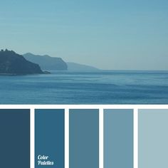 colour of sea water, colours of the sea, cornflower blue colour, dark azure colour, dark-blue, light blue, monochrome blue colour palette, monochrome colour palette, pale dark blue, pastel azure, shades of dark blue,