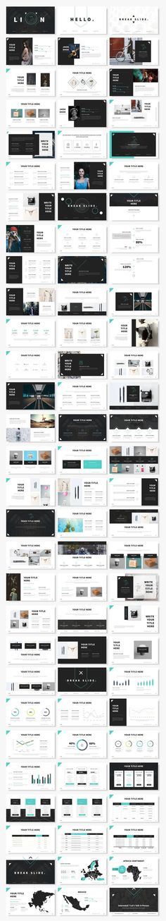 Final Powerpoint Template Bundle by Mikoslide on @creativemarket