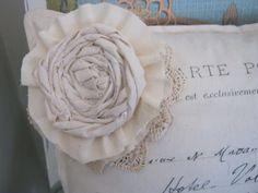Voodoo Molly Vintage: Rolled Rose & Rosette - Tutorial