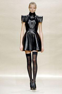 Magdalena Frackowiak at dice kayek - f/w 2007 Leather and fashion