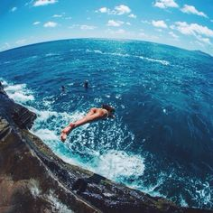 Go cliff diving!!
