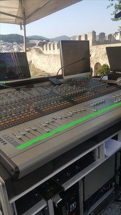 Multitrack Recording, Home Recording Studio Setup, Stage Equipment, Studio Equipment, Audio, Stage Set, Music Stuff, Consoles, Entertainment