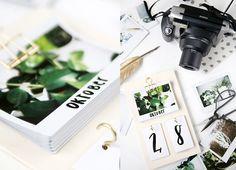 DIY: kalender met instax foto's
