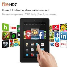 Today only: $60 off Fire HD 7. $139 $79