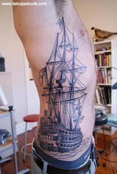 Tatuajes de Hombres en las Costillas (1)