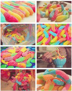 Gummy Worms!!!