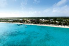 This is the Caribbean! Barcelo Bavaro Beach Resort in Punta Cana, Dominican Republic. Cant wait
