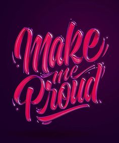 Love this shiny text effect. Type by @hey.morgan - #typegang - free fonts at typegang.com   typegang.com #typegang #typography