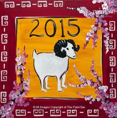 Year of the Lamb www.thepaintbar.com