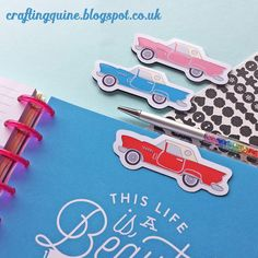 Magnetic Bookmarks and Planner Page Markers