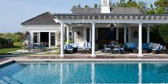 Take some #inspiration from these beautiful #pool #designs! http://www.housebeautiful.com/room-decorating/outdoor-ideas/g1416/pool-design-ideas/