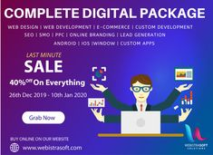 Our New Year's Sale is ending soon — don't miss it! Join the onboard clients empowering their digital presence and sales. Get Everything OFF till JAN 2020 On Free Consultation from Our Experts 👇👇 📱Call: Web Development Agency, Web Application Development, Digital Marketing Services, Social Media Marketing, Christmas Offers, Business Requirements, E Commerce, Vocabulary, Seo