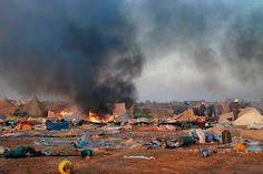 """Poemario por un Sahara Libre: El holocausto en el campamento de """"Gdeim Izik"""" (territorios ocupados en el Sahara Occidental): ¡Prohibido olvidar!"""