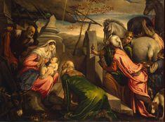 Adoration of the Magi {late 1560s} ~ Hermitage Museum, St. Petersburg ~ Artist(s): Bassano Jacopo & Francesco