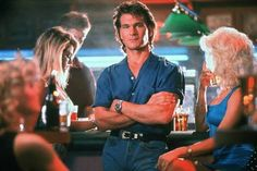 The late, great Patrick Swayze