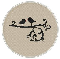 Bird Сross stitch pattern Instant Download by MagicCrossStitch