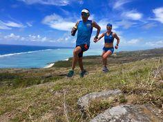 Eric Lacroix, Maud Gobert running in Rodrigues Island.  https://www.facebook.com/TrailDeRodrigues/photos/a.482238801801791.129694.482232101802461/1010528108972855/?type=1&permPage=1