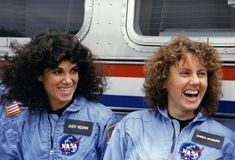 """"""" in seven NASA astronauts were killed in the Challenger explosion, including Girl Scouts Judith Resnik and Christa McAuliffe. Challenger Crew, Challenger Explosion, Space Shuttle Disasters, Teacher Application, Christa Mcauliffe, Valentina Tereshkova, Nichelle Nichols, American Crew, Nasa Astronauts"""