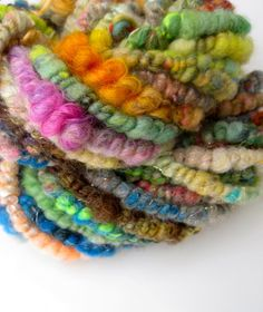 Outlaw Yarn The Coil in the Yarn supercoil handspun Art by marion, $42.00