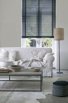 Amazing Ideas Can Change Your Life: Grey Living Room Blinds dark blinds for windows.Living Room Blinds How To Make modern blinds subway tiles. Black Blinds, Decor, Living Room Blinds, Roller Blinds Bedroom, Living Room, Home, Diy Blinds, Blinds Design, Curtains With Blinds