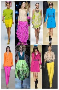 I think Moschino is the best choice for you if you like neon colours! The maxi … I think Moschino is the best choice for you if you like neon colours! The maxi ruffle pink skirt is my fav one. Evans Fashion, 80s Fashion, Fashion Looks, Gypsy Fashion, Milan Fashion, Fashion Women, Vip Fashion Australia, Neon Outfits, Neon Colors