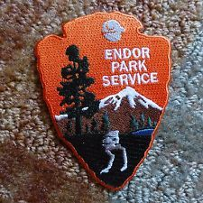 Star Wars ENDOR PARK SERVICE Patch. RARE. LAST ONE! Free Shipping!