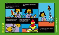 Bruisraket, leuk proefje voor kinderen op de basisschool!